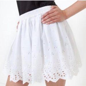 Ralph Lauren Denim and Supply eyelet skirt